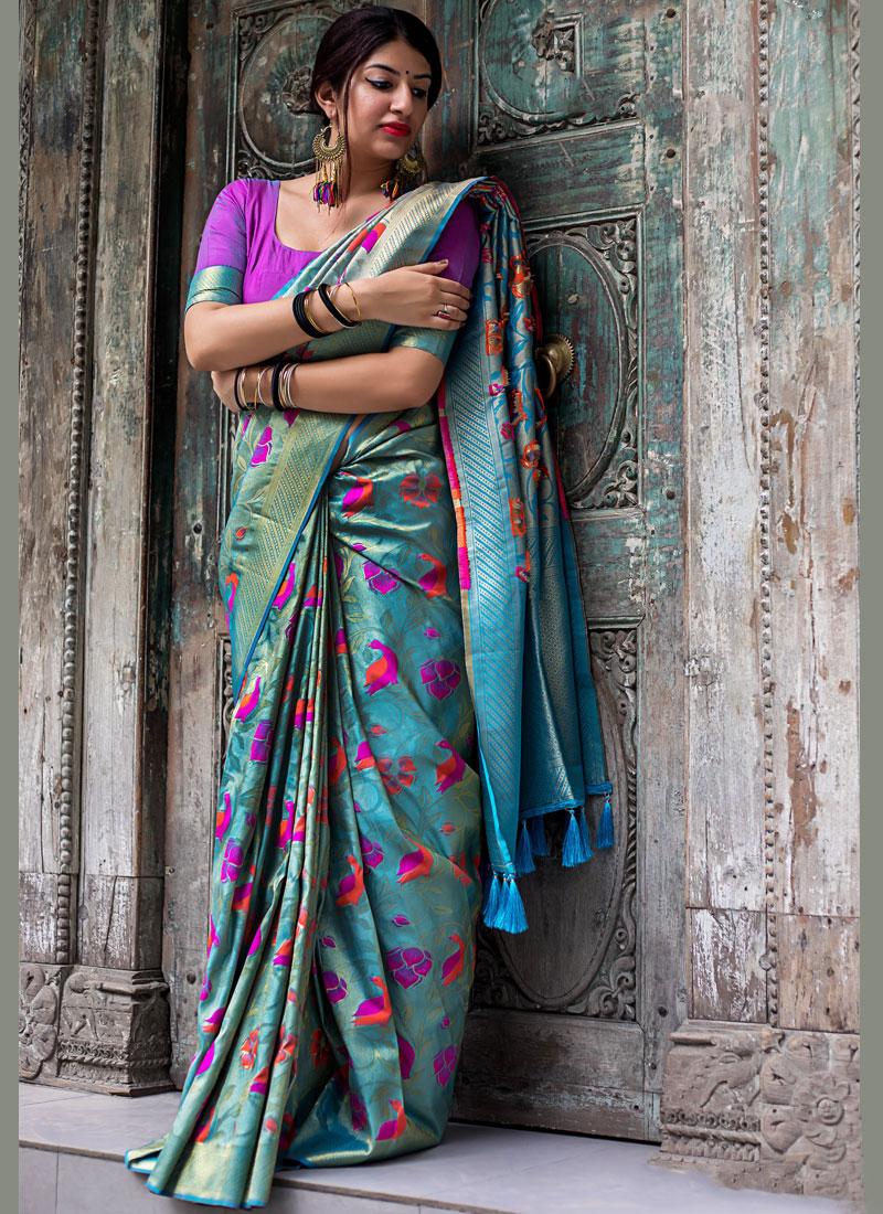 Modish Art Silk Bridal Traditional Saree