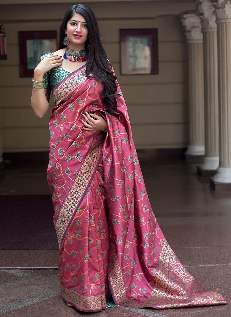 Monumental Designer Traditional Saree For Festival