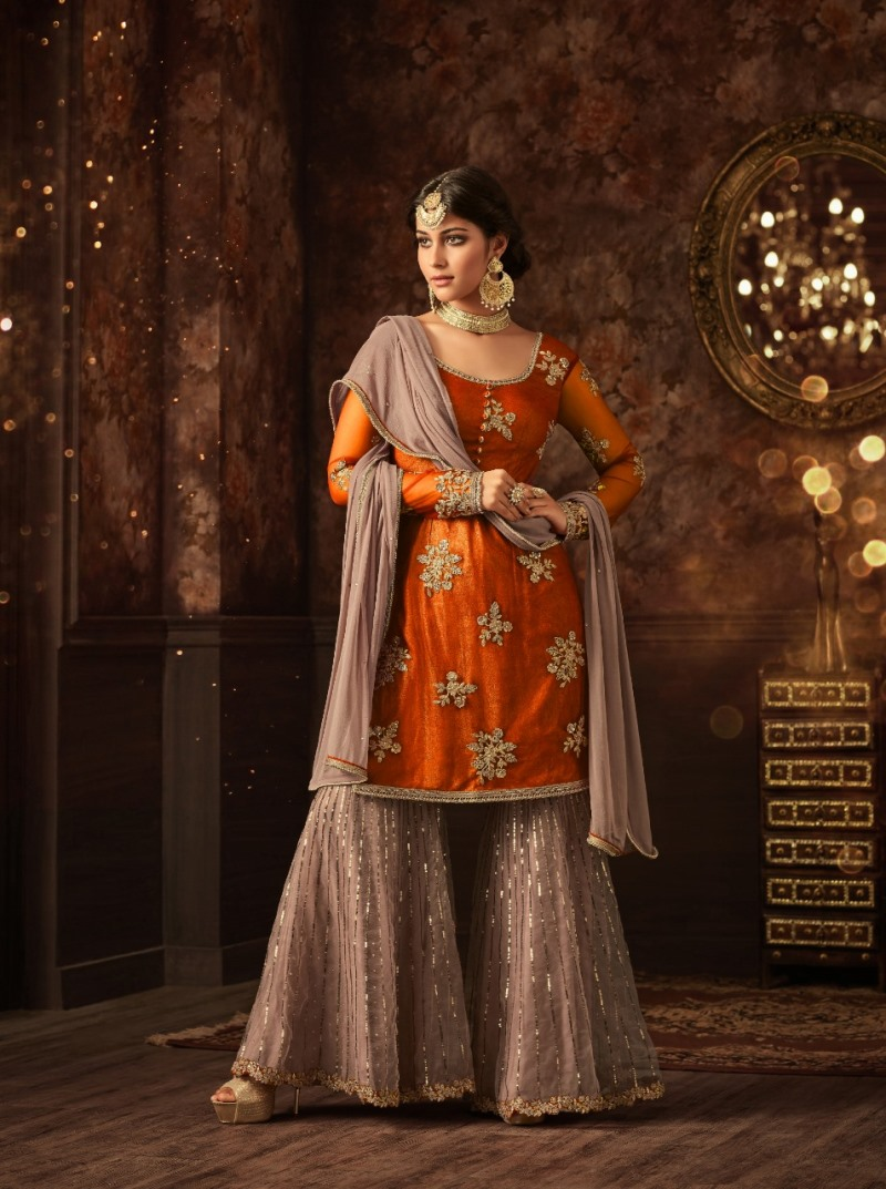 Sharara vaishnavi grange sharara suit