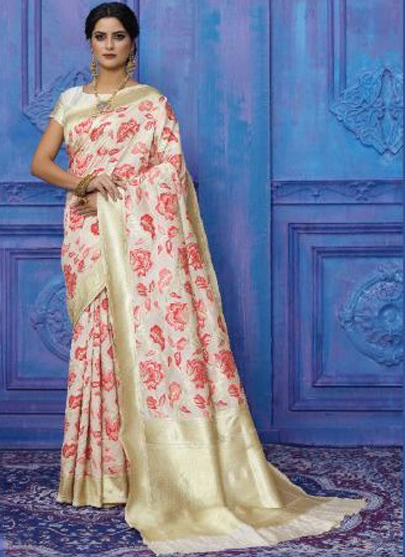 Multi Colour Art Silk Weaving Traditional Designer Saree