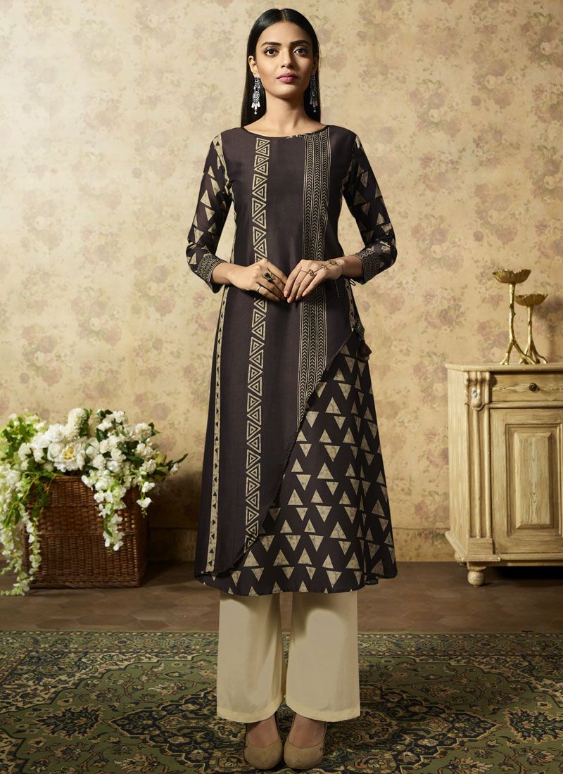 Mystical Party Wear Kurti For Party
