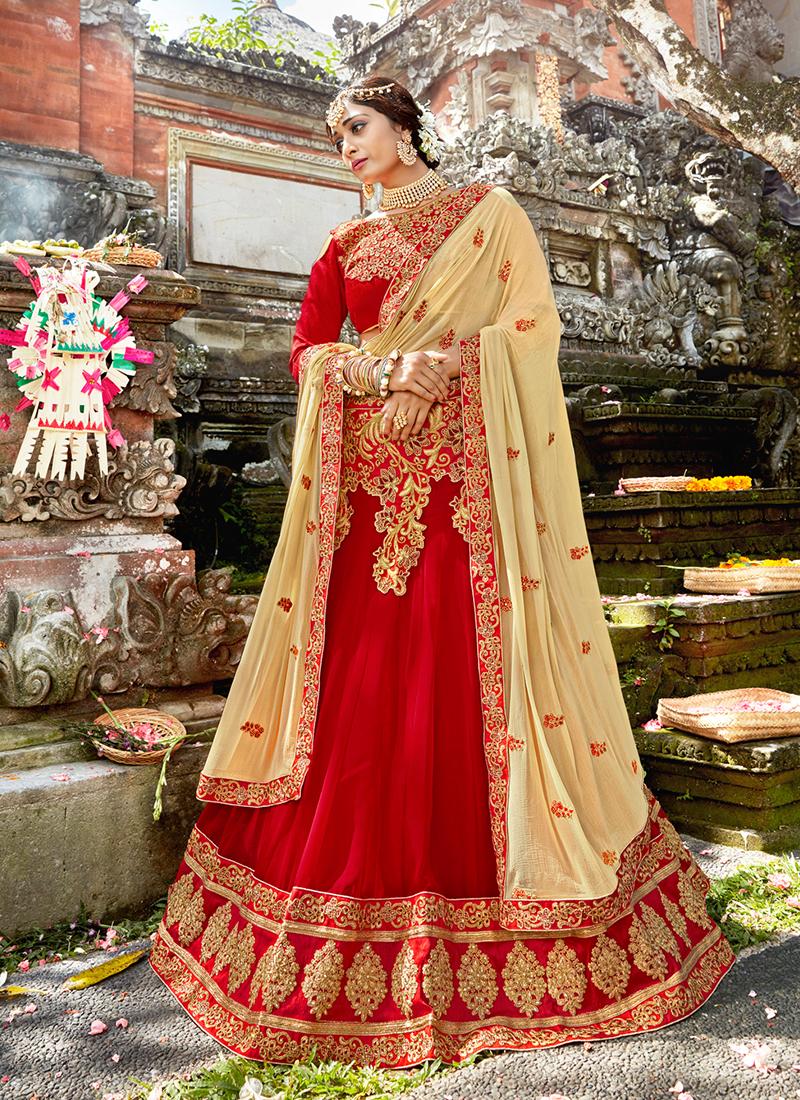 Opulent Art Silk Wedding Designer Lehenga Choli