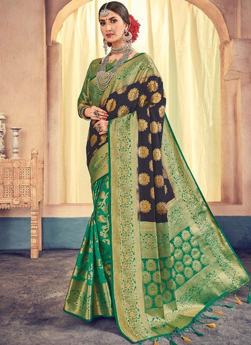 Orphic Banarasi Silk Weaving Designer Saree