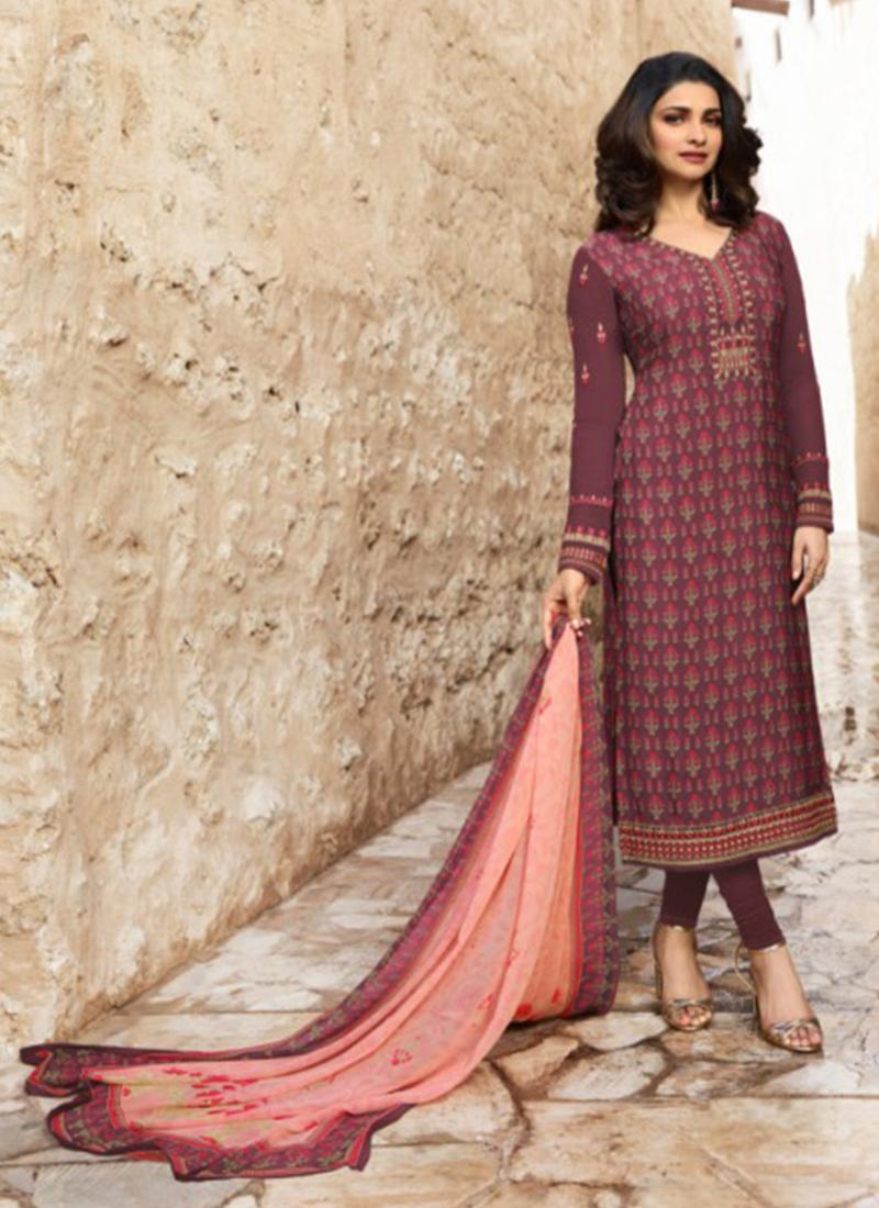 d82acfa8d2 Prachi Desai Churidar Designer Suit. Hover to zoom