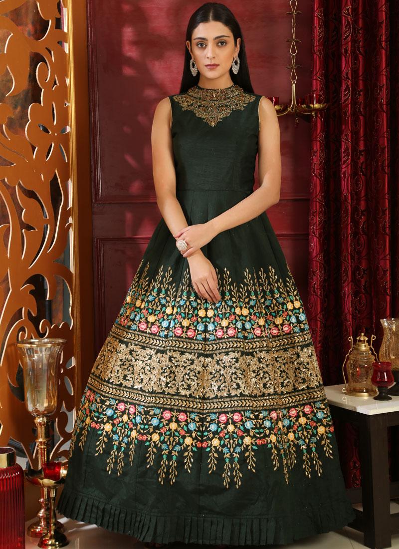 Praiseworthy Black Designer Gown