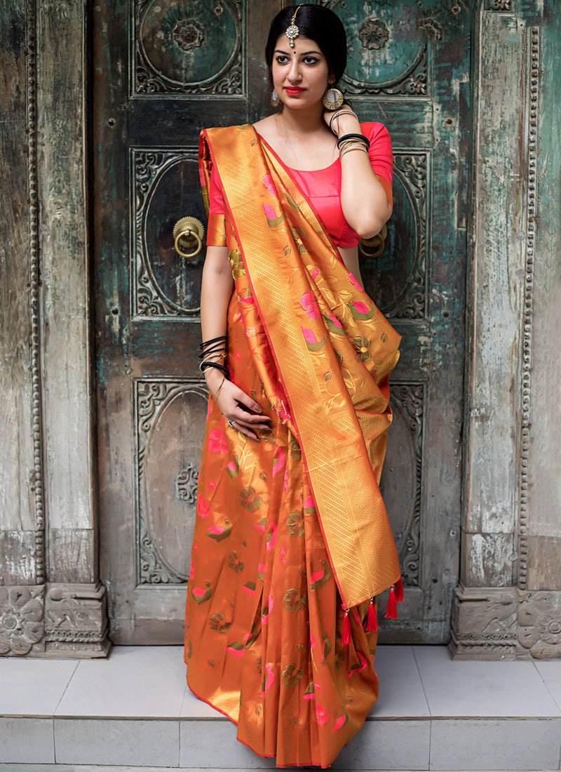 Princely Weaving Designer Traditional Saree
