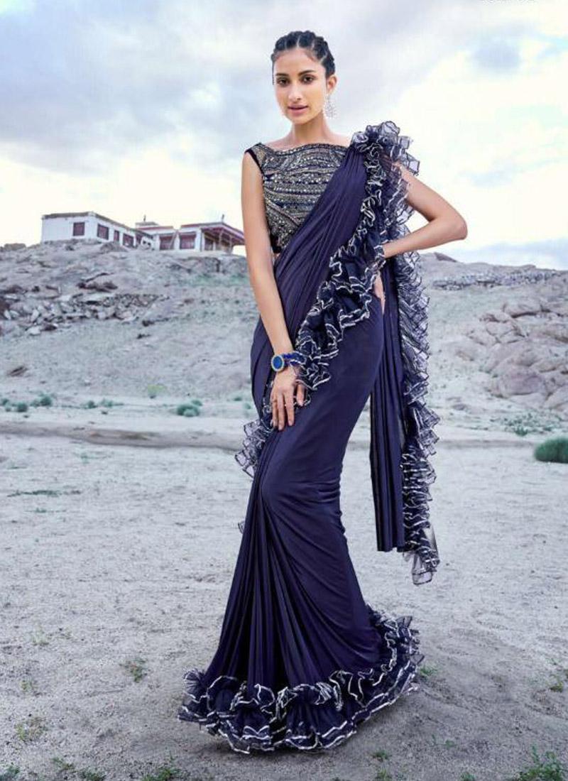Prominent Fancy Fabric Classic Designer Saree