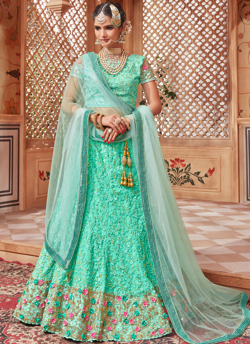 Renowned Handwork Wedding Lehenga Choli