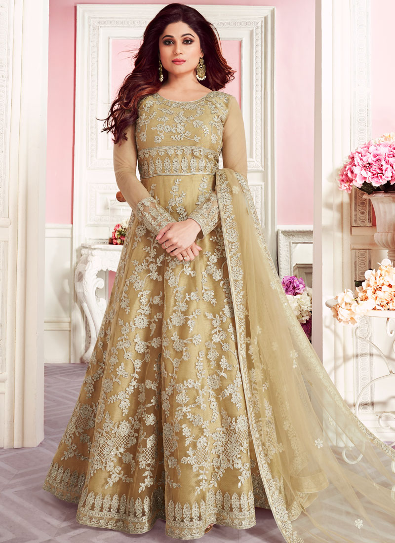Sonorous Embroidered Anarkali Suit