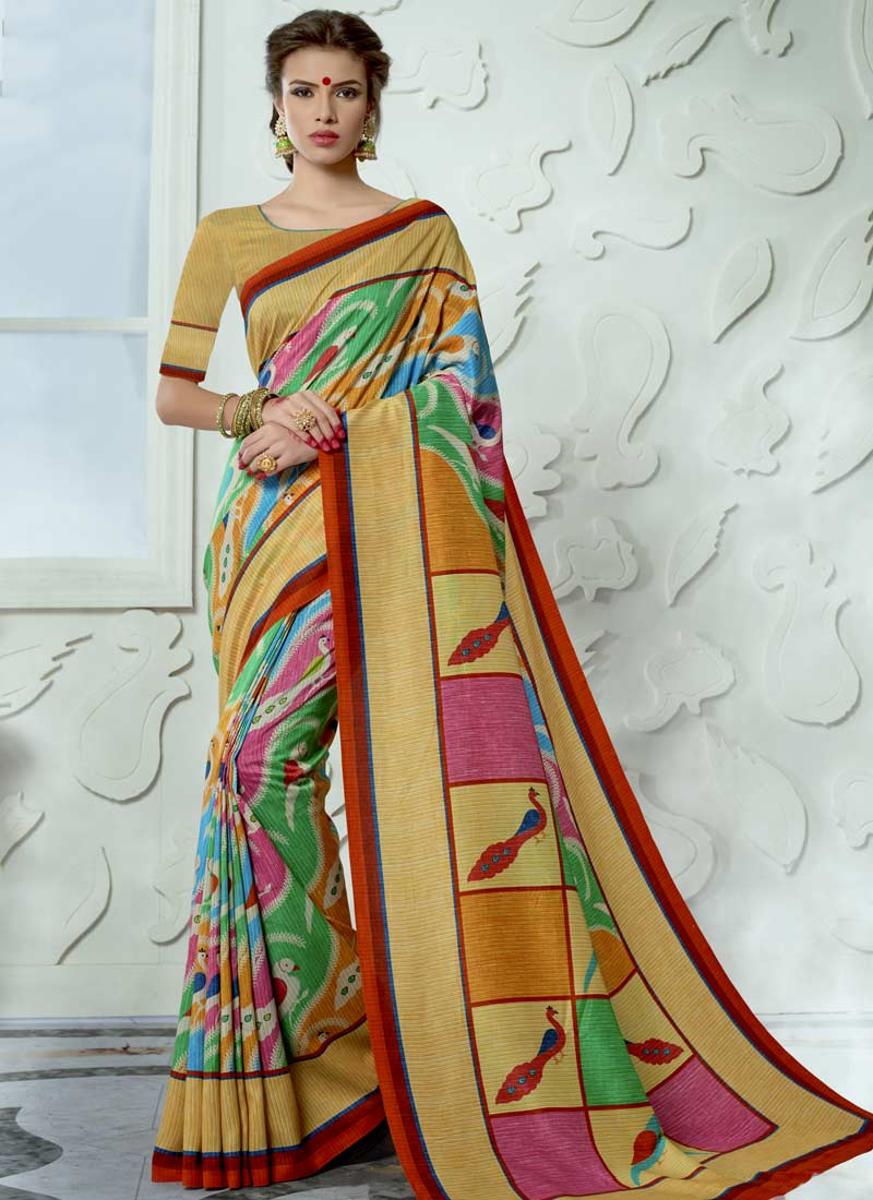Specialised Tussar Silk Casual Saree