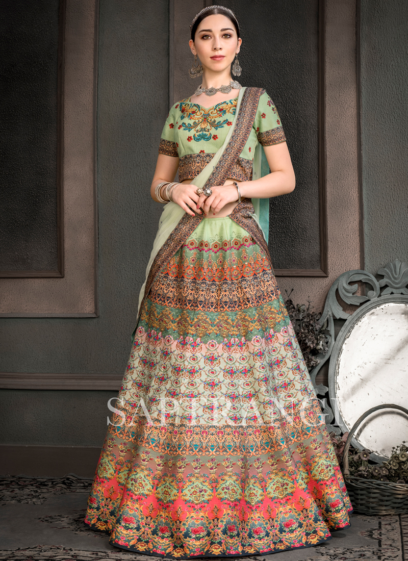 Sterling Multi Colour Lehenga Choli
