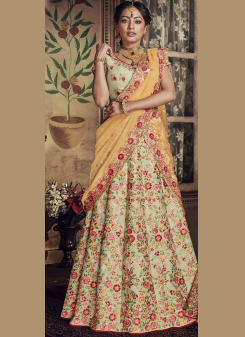 Surpassing Embroidered Bridal Lehenga Choli