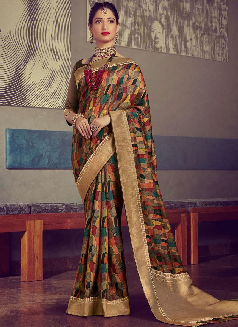 Tamannaah Bhatia Traditional Saree For Wedding