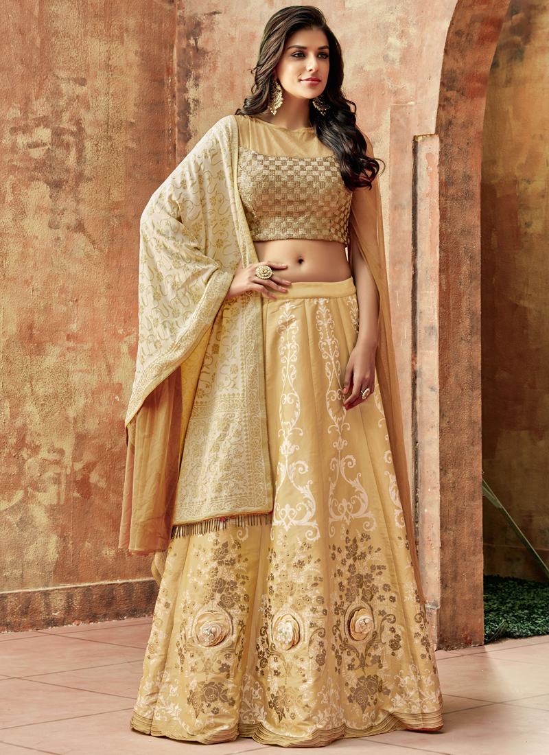 Trendy Art Silk Lehenga Choli